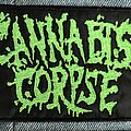 Cannabis Corpse - Patch - Cannabis Corpse logo patch