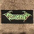 Gorguts - Patch - Gorguts logo patch