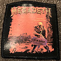 Megadeth - Patch - Megadeth Peace Sells patch