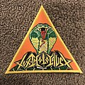 Toxic Holocaust - Patch - Toxic Holocaust - Chemistry of Consciousness triangle patch