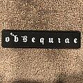 Obsequiae - Patch - Obsequiae logo patch