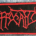 Suffocation - Patch - Suffocation logo patch