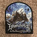 Immortal - Patch - Immortal - At the Heart of Winter shaped patch
