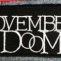 Novembers Doom - Patch - Novembers Doom logo patch