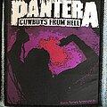 Pantera - Patch - Pantera Cowboys from Hell patch