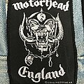 Motörhead - Patch - Motorhead England patch