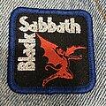 Black Sabbath - Patch - Black Sabbath logo mini patch