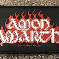 Amon Amarth - Patch - Amon Amarth logo patch