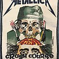 Metallica - Patch - Metallica Crash Course in Brain Surgery back patch
