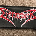 Dismember - Patch - Dismember red logo patch