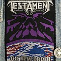 Testament - Patch - Testament The New Order patch