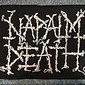 Napalm Death - Patch - Napalm Death logo patch