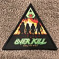 Overkill - Patch - Overkill - Feel the Fire triangle patch