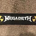 Megadeth - Patch - Megadeth logo strip patch