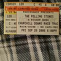 """The Rolling Stones - Other Collectable - The Rolling Stones """"Event Ticket"""" Live September 29, 2006"""