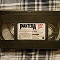 "Pantera - Tape / Vinyl / CD / Recording etc - Pantera ""Vulgar Video"" (Missing Cover) VHS 1993"