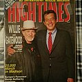 "Willie Nelson - Other Collectable - Willie Nelson ""High Times Magazine"" January 1991"
