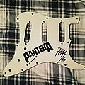 Pantera - Other Collectable - Pantera Logo Guitar Pickguard signed by Phil Anselmo 2016