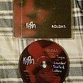 "Korn - Tape / Vinyl / CD / Recording etc - Korn ""A.D.I.D.A.S."" (Version B) CD Single 1997"