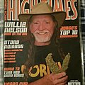 "Willie Nelson - Other Collectable - Willie Nelson ""High Times Magazine"" January 2008"