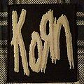 """Korn - Patch - Korn """"Logo"""" Patch 1994"""