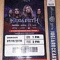 Megadeth - Other Collectable - Megadeth live Jogjarockarta, Indonesian 2018.