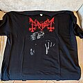 "Mayhem - TShirt or Longsleeve - Mayhem ""Live in Liepzig"" t shirt red logo"