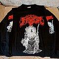 """Immortal - TShirt or Longsleeve - Immortal """"Throne"""" long sleeve 1997"""