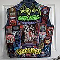 Overkill - Battle Jacket - Work-in-Progress Patch Jacket Started During Lockdowns
