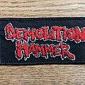 Demolition Hammer - Patch - Demolition Hammer Logo Patch