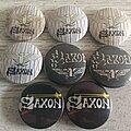 Saxon - Pin / Badge - Saxon Old Buttons