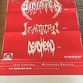 Sinister - Other Collectable - Sinister Gig Poster 1994