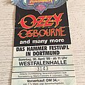 Ozzy Osbourne - Other Collectable - Metal Hammer Festival Ticket