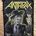 Anthrax - Patch - Anthrax Patch among the living