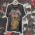 Metallica - TShirt or Longsleeve - 90's Darcy Pushead Skull pile Bootleg XL