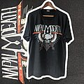 Napalm Death - TShirt or Longsleeve - 1989 Napalm Death The Grindcrusher Tour XL