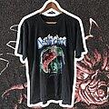 Destruction - TShirt or Longsleeve - 1990 Destruction Cracked Brain XL