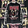 Cradle Of Filth - Hooded Top - 1998 Cradle of Filth Cruelty and the Beast Bootleg L