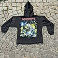 Iron Maiden - TShirt or Longsleeve -  1990 Iron Maiden No Prayer on the Road Hoody XL