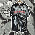 Iron Maiden - TShirt or Longsleeve - 90's Iron Maiden Number of the Beast All Over Print XL