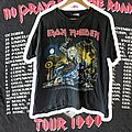 Iron Maiden - TShirt or Longsleeve - 1990 Iron Maiden No Prayer On The Road Tour XL