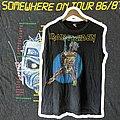 Iron Maiden - TShirt or Longsleeve - 1986 Iron Maiden Somewhere on Tour XL