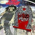 Slayer - Pin / Badge - ''In Loving Memories'' of Slayer