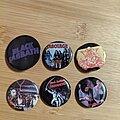 Black Sabbath - Pin / Badge - Black Sabbath buttons