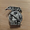 Anthrax - Pin / Badge - Anthrax Persistence of time