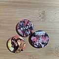 W.A.S.P. - Pin / Badge - WASP buttons