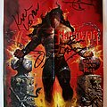 Manowar - Other Collectable - Manowar signed booklet 1