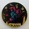 Kiss - Pin / Badge - Kiss Soviet Badge 4cm