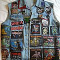 Iron Maiden - Battle Jacket - My old  jacket, late 90's