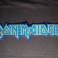 Iron Maiden - Patch - Iron Maiden logo backpatch